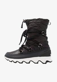 KINETIC - Snowboots  - black/white