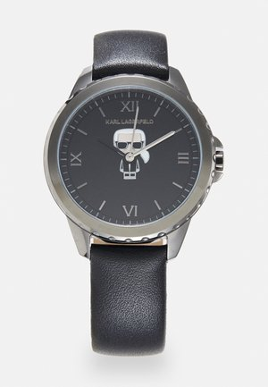 IKONIK DIVER STRAP - Watch - gunmetal