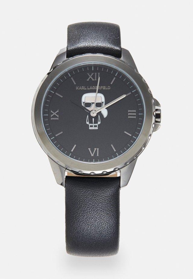 IKONIK DIVER STRAP - Watch - gunmetal