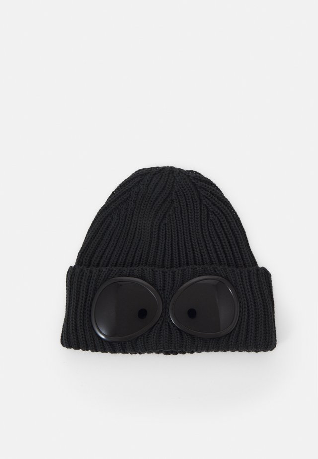 LENS BEANIE - Bonnet - dark fog grey