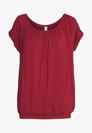 MARICA - Basic T-shirt - syrah