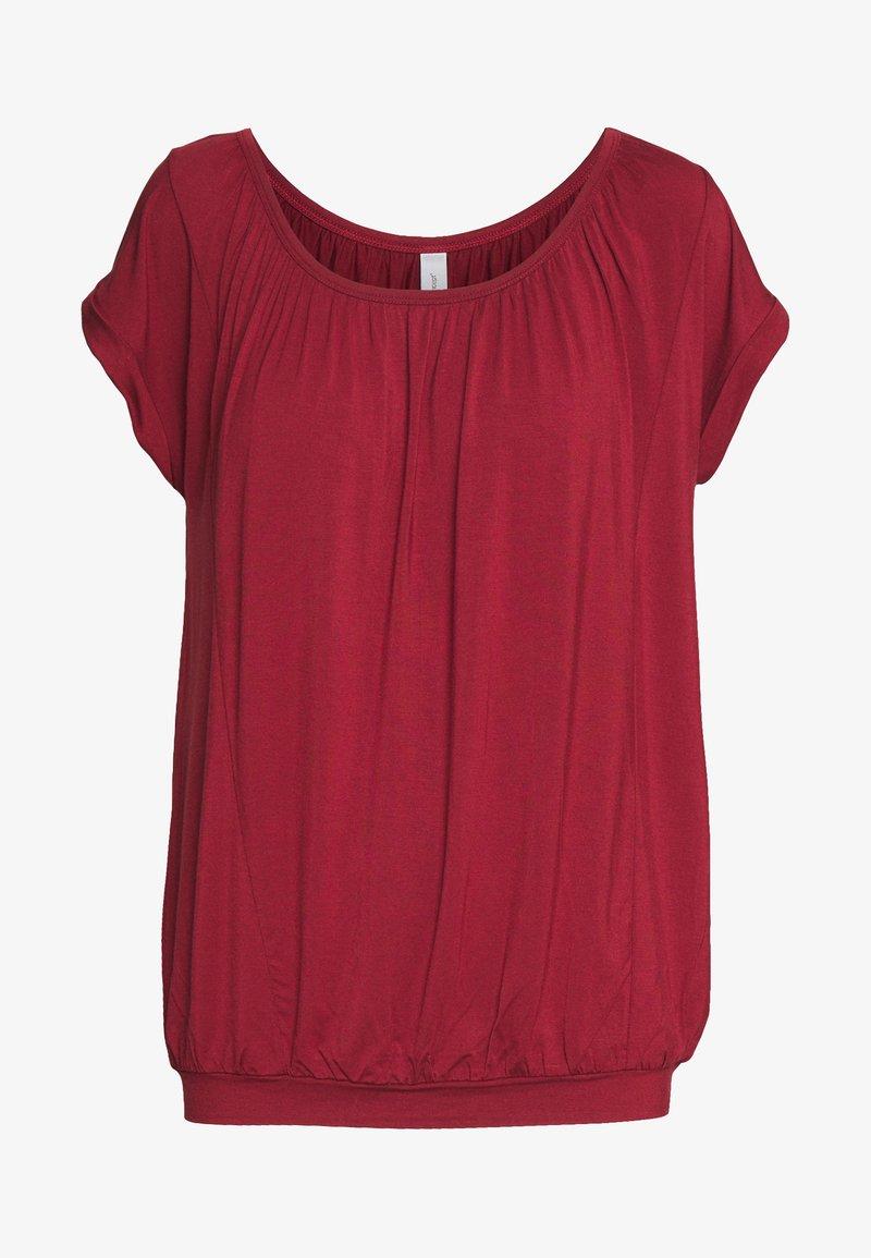 Soyaconcept - MARICA - Basic T-shirt - syrah