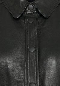Kaffe - KAJANELLE DRESS - Shirt dress - black deep - 2