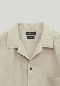 Massimo Dutti - Skjorta - beige - 2