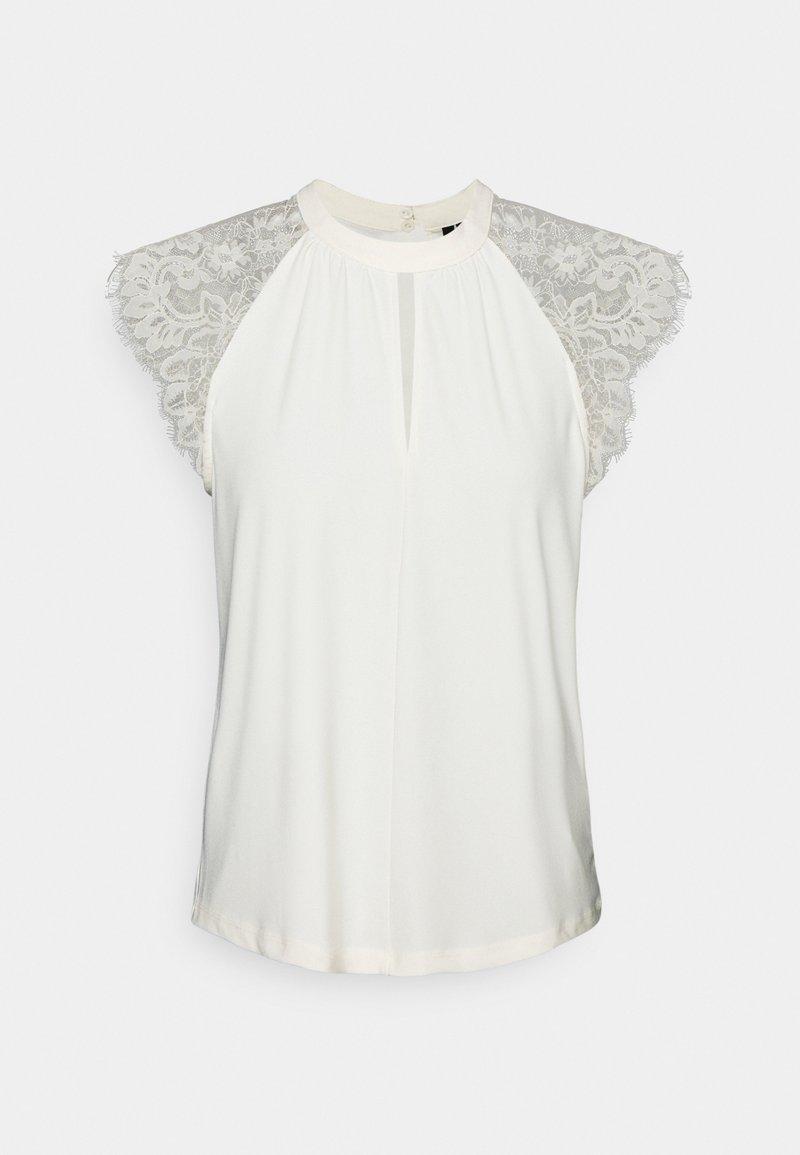 Vero Moda Petite - VMMILLA TEE - Print T-shirt - birch