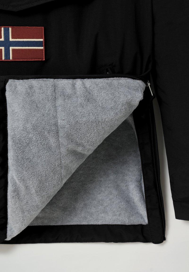 Napapijri RAINFOREST POCKET - Übergangsjacke - black/schwarz U3xfj2