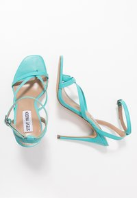 Steve Madden - AMADA - High heeled sandals - teal - 3