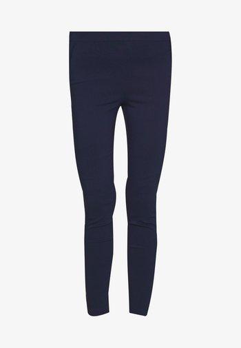 MOCK POCKET DETAIL BENGALINE TROUSER - Kalhoty - navy blue
