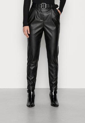 VISYBILLE PANTS - Trousers - black