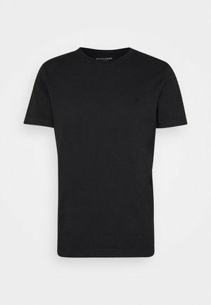 JJEWASHED TEE O NECK - T-shirt basic - black