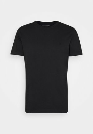 JJEWASHED TEE O NECK - Camiseta básica - black