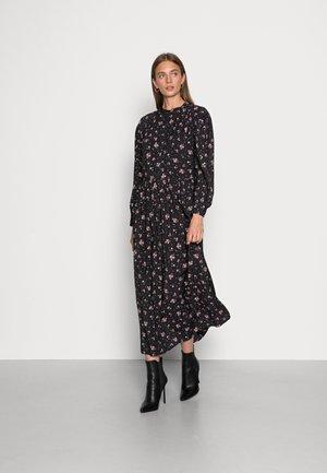 ABERTE MAXI DRESS - Shirt dress - black