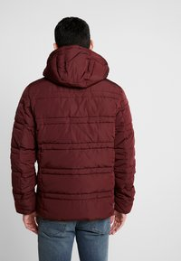 Scotch & Soda - CLASSIC HOODED PRIMALOFT JACKET - Vinterjacka - bordeaux - 2