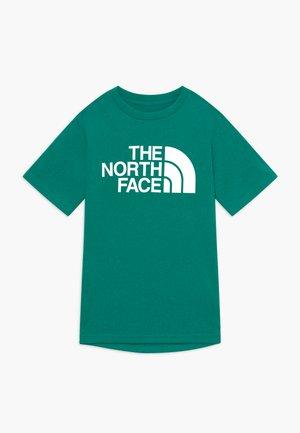 BOY'S REAXION 2.0 TEE - T-shirt z nadrukiem - fanfare green heather