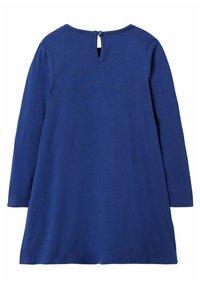 Boden - MIT GROSSER APPLIKATION - Day dress - segelblau pferd - 1