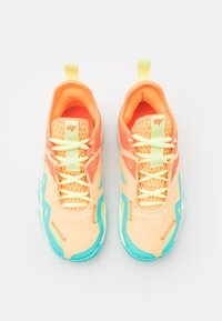 Jordan - WESTBROOK ONE TAKE UNISEX - Basketball shoes - light liquid lime/pink blast/black/amarillo/psychic purple/aurora green - 3