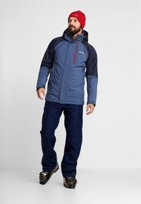 Columbia - WILDSIDE JACKET - Ski jas - dark mountain/collegiate navy heather - 1