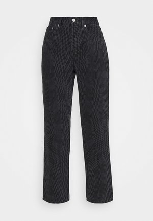 WARP RUNWAY - Jeans Relaxed Fit - black