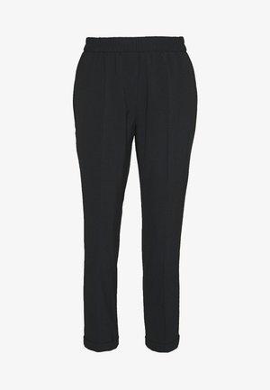 SAVIS LUXURY - Kalhoty - dark grey