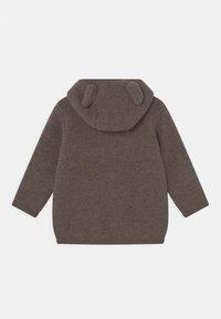 Huttelihut - JACKIE JACKET UNISEX - Fleece jacket - marmo brown - 1