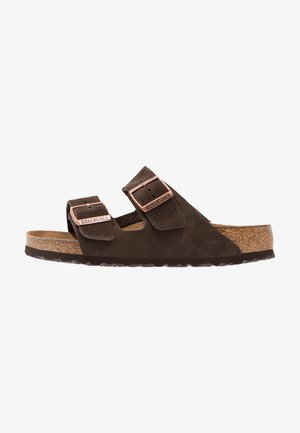 ARIZONA SOFT FOOTBED - Matalakantaiset pistokkaat - mocca