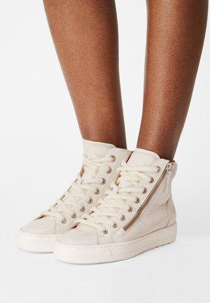 Sneakers hoog - ivory