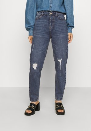 PCKESIA MOM  - Jeans Tapered Fit - medium blue denim