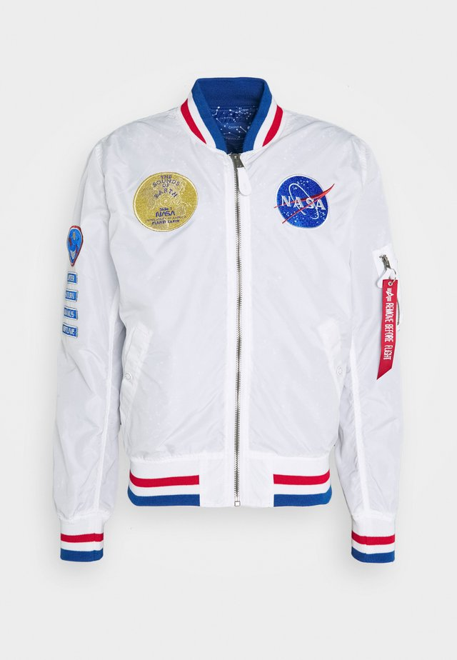 NASA VOYAGER - Bomber bunda - white