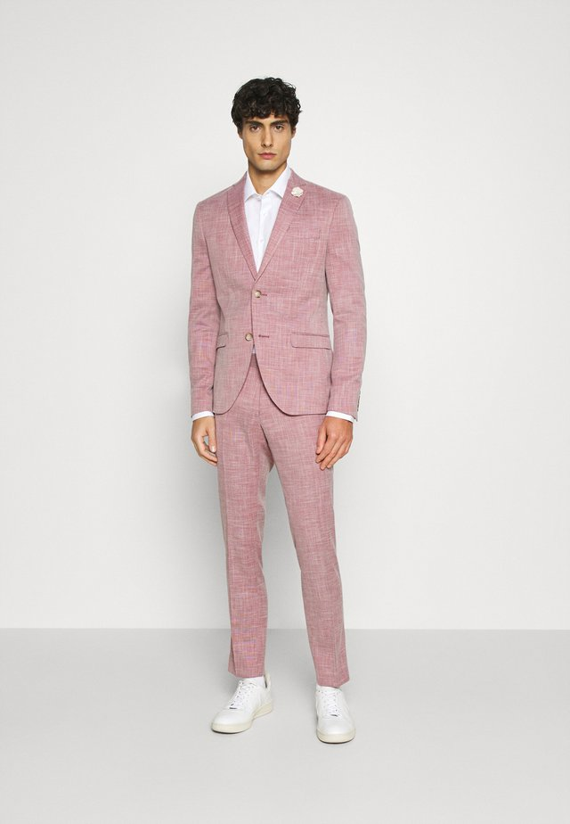 WEDDING COLLECTION - SLIM FIT SUIT - Traje - pink