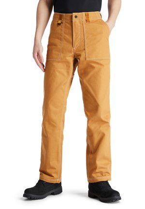 Tracksuit bottoms - wheat boot