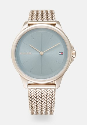 DELPHINE - Watch - roségold-coloured/blue