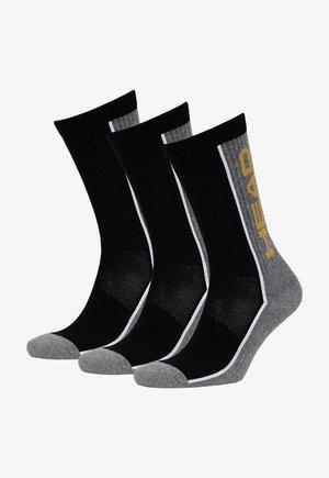 3 PACK - Sokken - grey/black