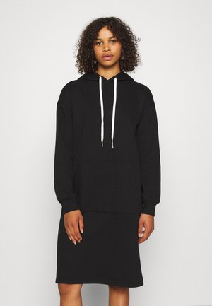 OBJKAISA DRESS - Denní šaty - black
