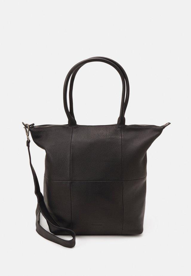 HAPPY - Shoppingveske - black
