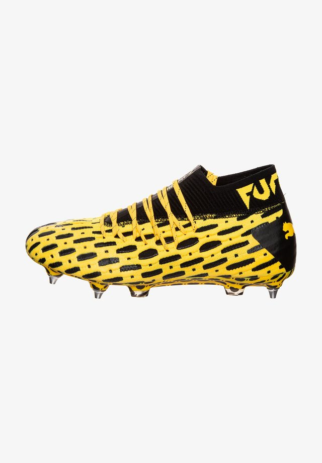 FUTURE 5.1 NETFIT MXSG  - Screw-in stud football boots - ultra yellow /black