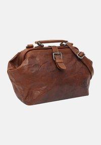 Gusti Leder - dark brown - Käsilaukku - honey brown - 2