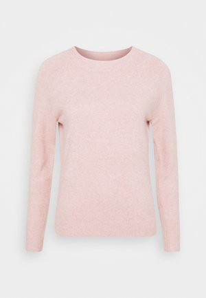 ONLRICA LIFE O-NECK - Jumper - misty rose/melange