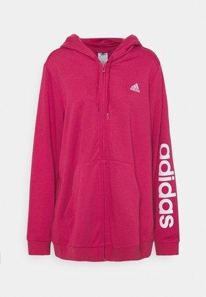 LIN - Zip-up hoodie - pink/white