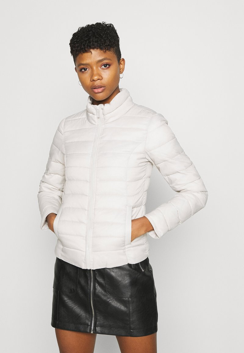 ONLY - ONLNEWTAHOE QUILTED JACKET - Light jacket - moonbeam