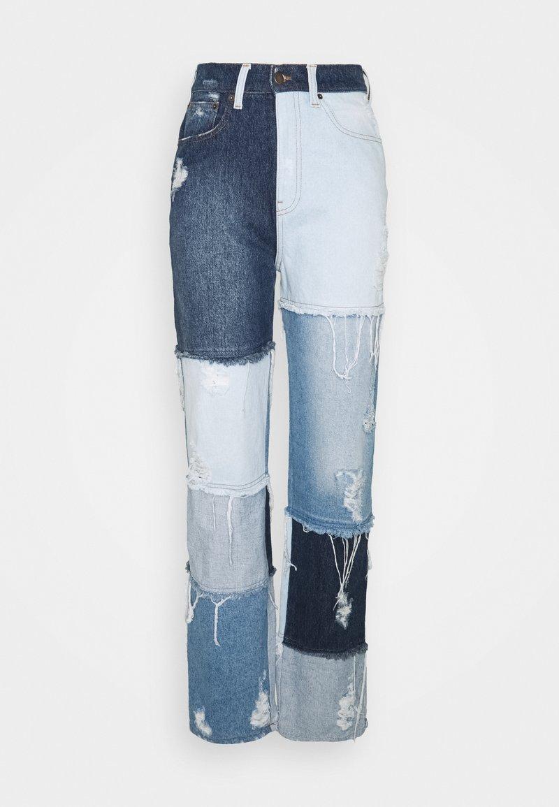 retrofête - RIKKI - Jeans relaxed fit - indigo