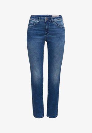 MIT ZIERNÄHTEN - Straight leg jeans - blue medium washed