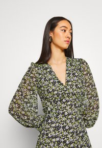 Topshop - STEEPLE FRONT MIDI - Day dress - yellow - 3