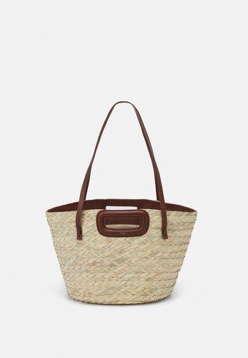 BASKET - Handbag - caramel