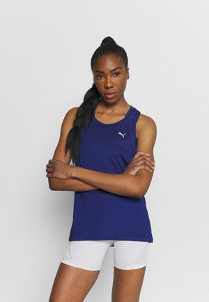 TRAIN FAVORITE TANK - Sports shirt - elektro blue