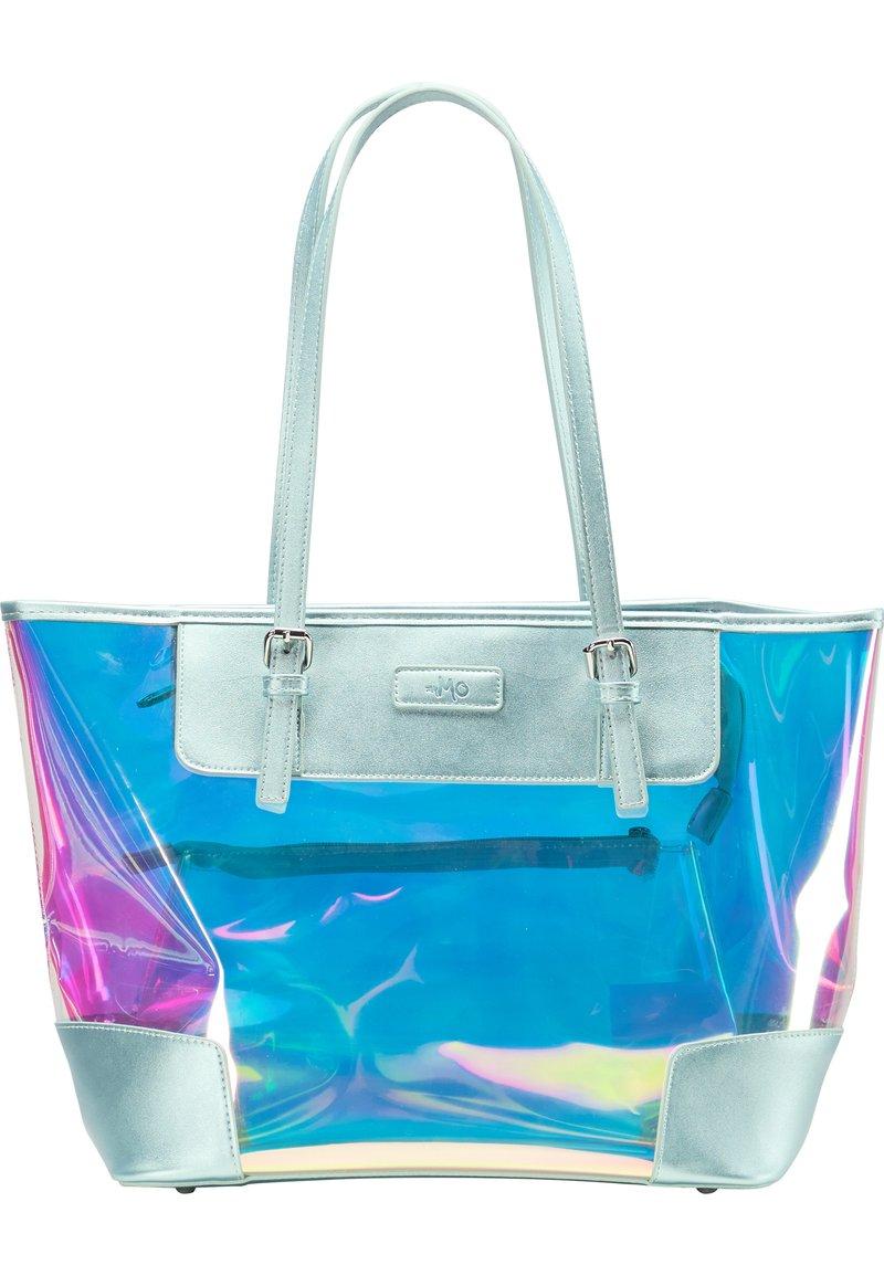 myMo - Tote bag - blau holo