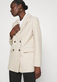 Dorothy Perkins - DOUBLE BREASTED COAT - Short coat - oatmeal - 3