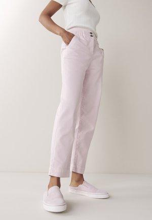 ELASTICATED WAIST - Straight leg jeans - lilac