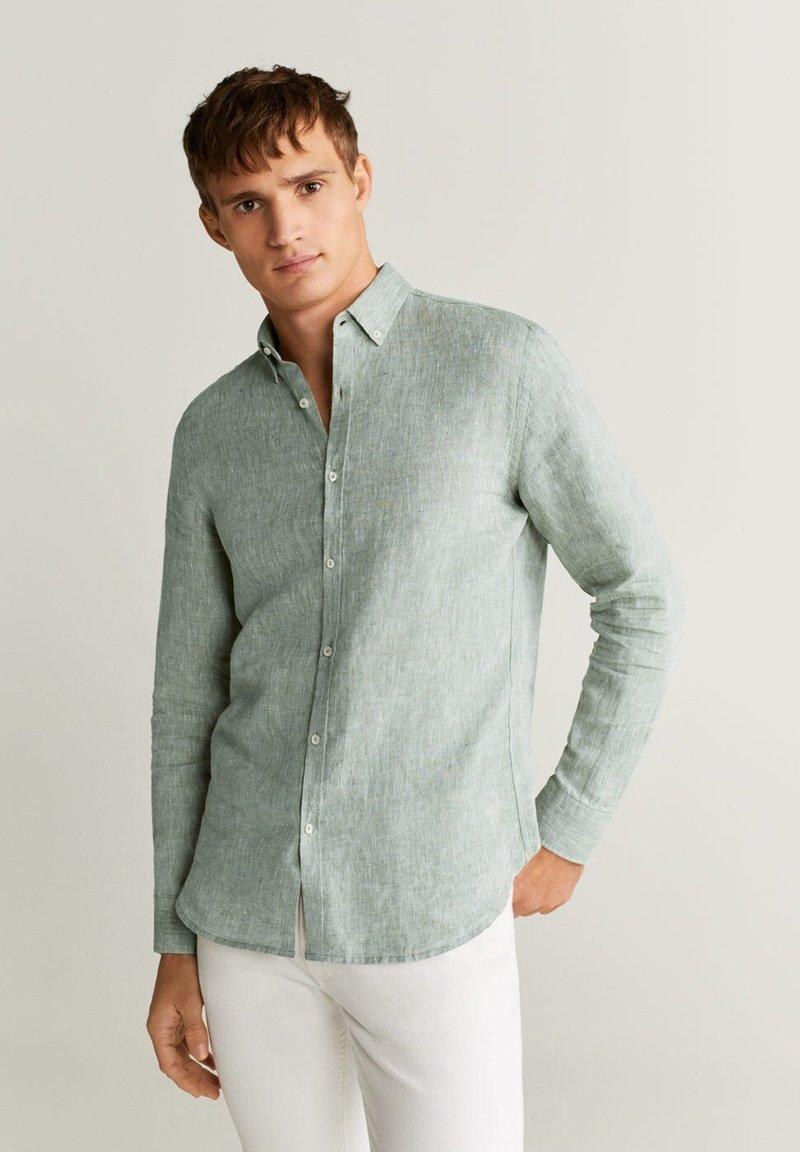 Mango - AVISPA - Shirt - green