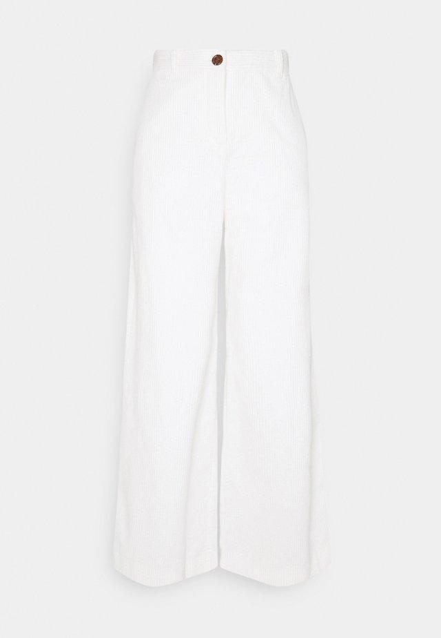 BYDANNA PANTS - Broek - vanilla ice