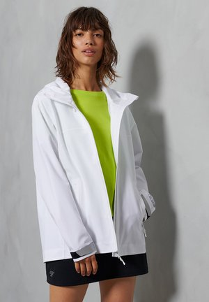 HYDROTECH HARPA - Waterproof jacket - white
